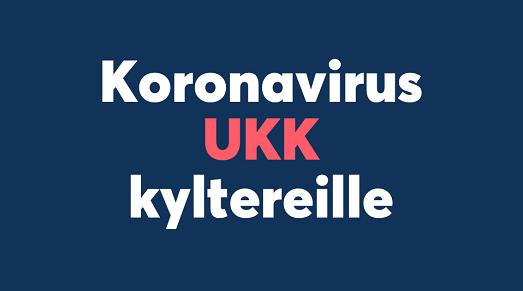 koronavirus UKK kyltereille