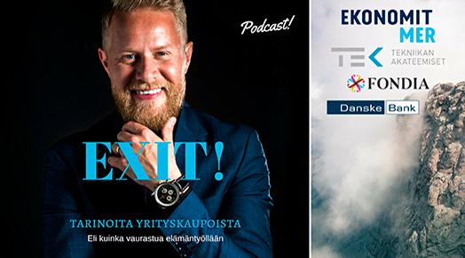 Exit! Tarinoita yrityskaupoista podcast