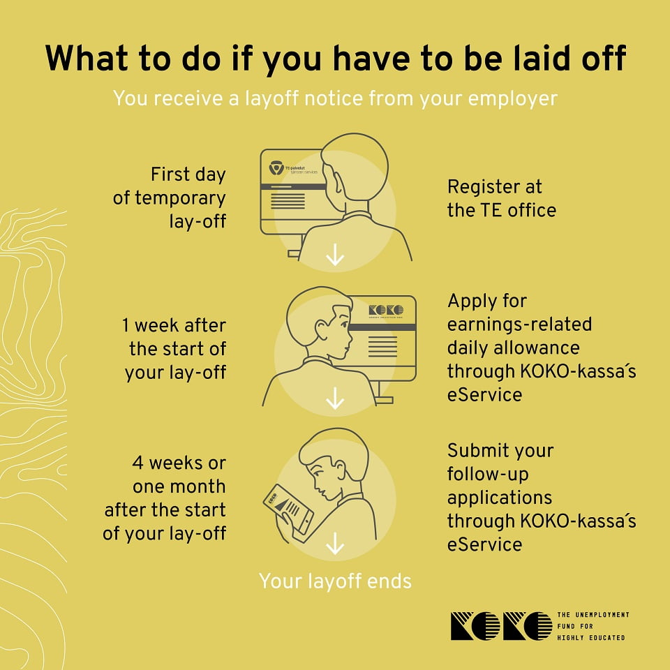 What to do if you have to be laid